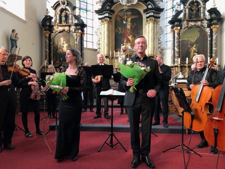 Met sopraan Kathelijn van Dongen in Megen
